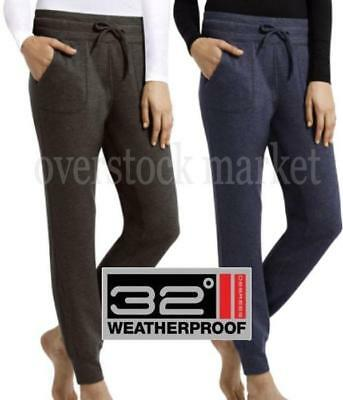 ebb6e77f215fe New Womens Weatherproof 32 Degrees Heat Jogger Pant! Athletic Or Lounge!  Variety