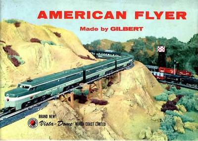 American Flyer Trains Vintage Brochure / Catalog from the 1950's