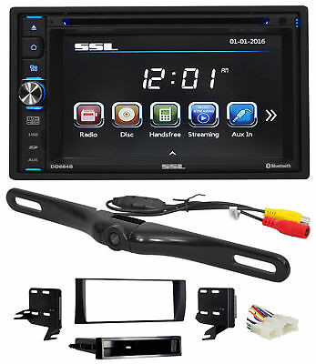 2002-2006 Toyota Camry DVD/CD/AM/FM Receiver Player Monitor w/ Bluetooth+Camera