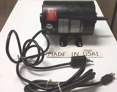 """New Delta 1/2 Hp Electric Motor Model 62-142 Motor Replacement For 14"""" Bandsaw"""