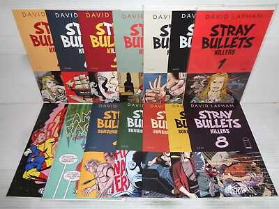 Stray Bullets: Killers 1-8, more COMPLETE SET! 10 Comics 2014 Image (b 18826)
