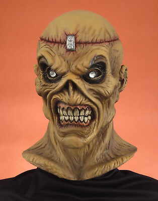 Deluxe Adult Iron Maiden Eddie Metal Head Full Mask Metalhead Halloween