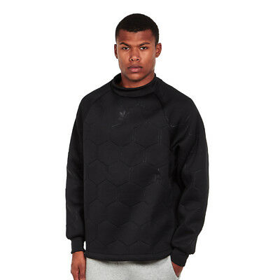 adidas - Sonic Soccer Crewneck Sweater Black / Black Pullover Rundhals