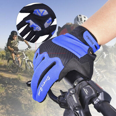Motorcycle Bike Riding Gloves Windproof Winter Warm Touchscreen Gloves Outdoor L