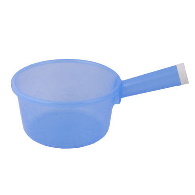 Household Kitchen Plastic Round Shape Nonslip Grip Water Dipper Ladle Bailer