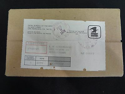 1977 mint Sets Sealed / Unopened Box of 5 Complete as Shipped by US Mint