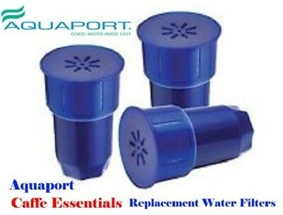 Aquaport AQP-FCR3 Replacement Jug Water Filters  Pack of 3