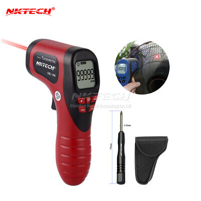 NKTECH NK-300 LCD Digital Láser Tacómetro Non Contact Measuring 2.5-99999 RPM