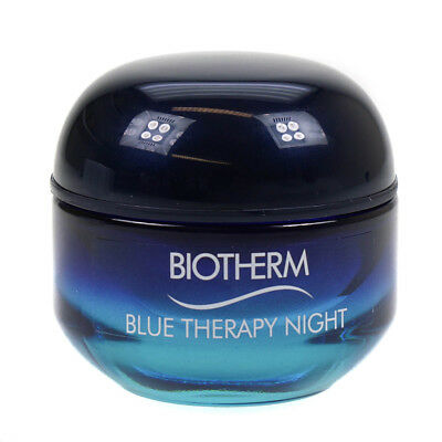 Biotherm Blue Therapy Night Cream 50ml Anti Ageing Moisturising Moisturiser