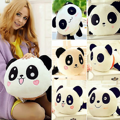 Cute Cuddly Plush Panda Doll Toy Stuffed Soft Animal Pillow Cushion Bolster Gift