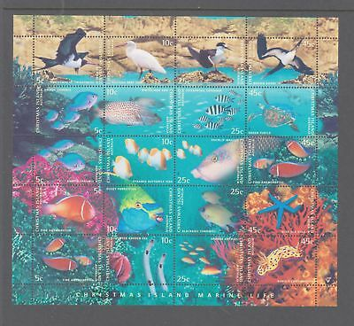 Christmas Island 1998 Mint unhinged Sheetlet 20 stamps
