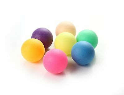 Ping Pong Balls 40mm - MIXED COLOURS - No Logo Table Tennis Beer - Wholesale