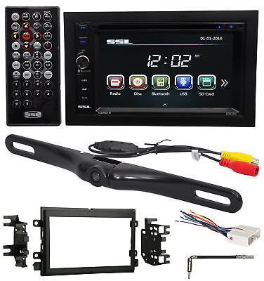 2007-2008 Ford F-150 DVD/CD/AM/FM Receiver Player Monitor w/ Bluetooth+Camera