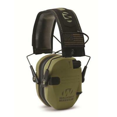 Walkers Game Ear Wge-Gwp-Rsempat-Odg  Walker's Razor Patriot Od Green