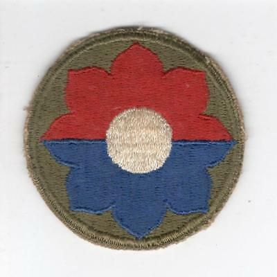 WW 2 US Army 9th Infantry Division Patch Inv# Y979