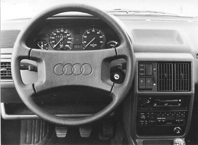 1985 Audi 100 Steering Wheel ORIGINAL Factory Photo oub9228