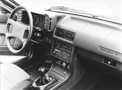 1985 Audi Coupe GT Front Interior ORIGINAL Factory Photo oub9245