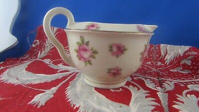 ancien petit pot a lait decor floral  limoges haviland verseuse