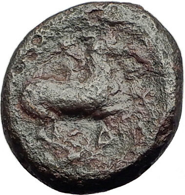 Philip II 359BC Olympic Games HORSE Race WIN Macedonia Ancient Greek Coin i64656