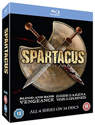 SPARTACUS COMPLETE - SLIM EDITION  Blu-Ray NEW