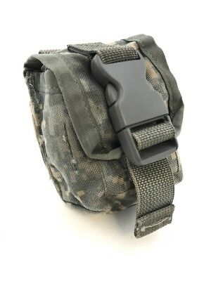 Army Frag Hand Grenade Pouch, Military ACU Digital Camo MOLLE II Single Pouches