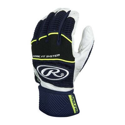 Rawlings Workhorse WORKCSBG-N-89 Navy M Batting Gloves