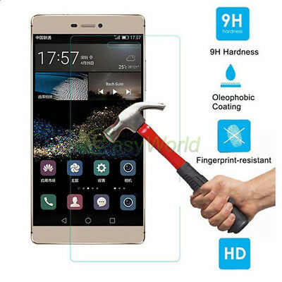 9H Premium Tempered Glass Cover Screen Protector Film For Huawei Honor 9 8 7