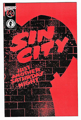Sin City Just Another Saturday Night Wizard 1/2 NM+ Frank Miller 1997 Dark Horse
