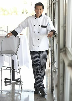 Uncommon Threads Newport chef coat, many colors, XS-6XL, 0404