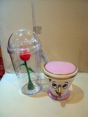Disney Beauty And The Beast Enchanted Rose Plastic Cup