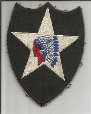 WW 2 US Army 2nd Infantry Division Patch Inv# B166