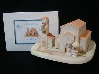ct Precious Moment-There's A Blessing Here-HUGE Rare Chapel Exclusive LE