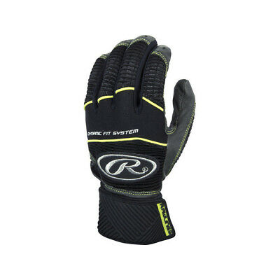 Rawlings Workhorse WORKCSBG-GR-92 Graphite XXL Batting Gloves