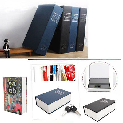 Home Security Creative Dictionary Book Safe Box Money for Cash Jewelry Lock Box