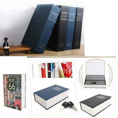Home Security Dictionary Book Safe Box Storage Key Lock Box for Cash Jewelry