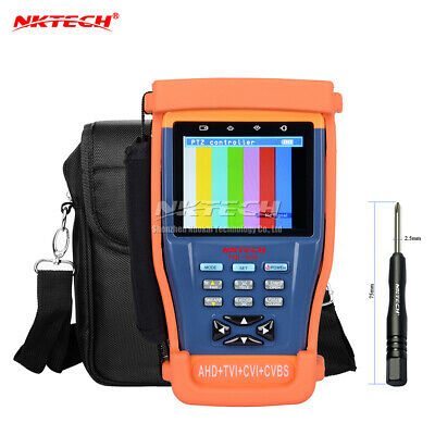 "NKTECH NK-895 4 IN 1 CCTV überwachung kamera Tester Video Monitor 3.5"" TFT-LCD"