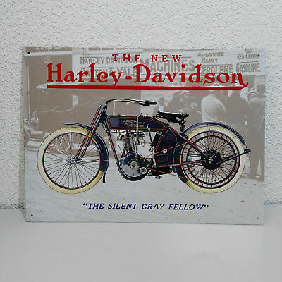 blechschild harley davidson the new 1958 duo glide 40x30cm. Black Bedroom Furniture Sets. Home Design Ideas