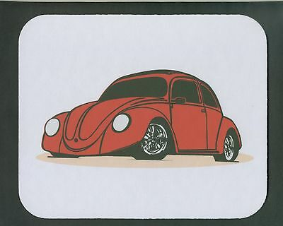 Vintage Red VOLKSWAGEN - VW   Mouse Pad  *FREE SHIPPING