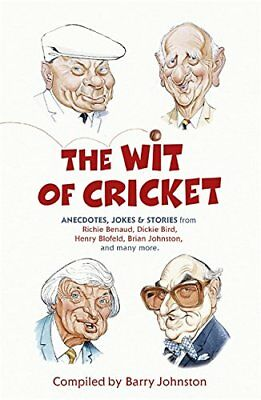 The Wit of Cricket, Johnston, Barry, , Various, New condition, Book