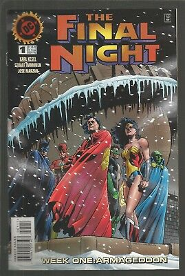The Final Night #1,2,3,4, (1996, DC) full mini-series, m5