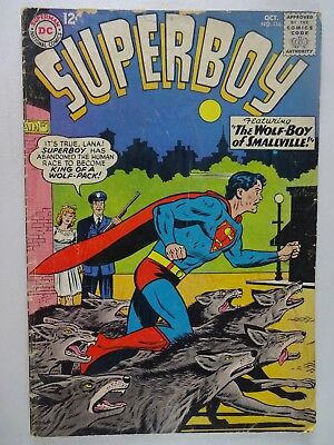 Superboy #116  The Wolf-Boy of Smallville  The Ordeal of Chief Parker  Curt Swan