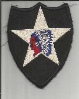 WW 2 US Army 2nd Infantry Division Patch Inv# B171