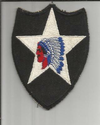WW 2 US Army 2nd Infantry Division Patch Inv# B173