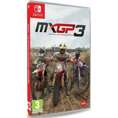 MXGP3 The Official Motocross Videogame Nintendo Switch Game - Pre Order