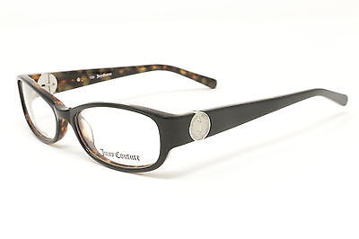 aadc73e8f4e NEW Juicy Couture Eyeglasses JU120 0CW6 Black Tortoise 52-15-130 AUTHENTIC
