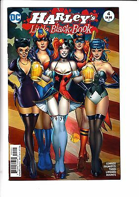 HARLEYS LITTLE BLACK BOOK #4, TUCCI 1:25 VARIANT, New, DC Comics (2016)