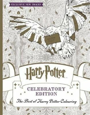 Harry Potter Colouring Book Celebratory Edition The Best of Har... 9781783708253