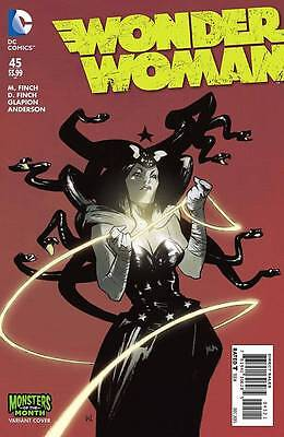WONDER WOMAN #45, MONSTERS VARIANT, New, First print, DC Comics (2015)