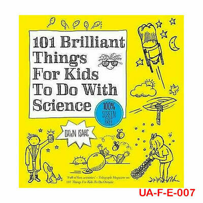 101 Brilliant Things for Kids to Do with Science By Dawn Isaac Paperback New