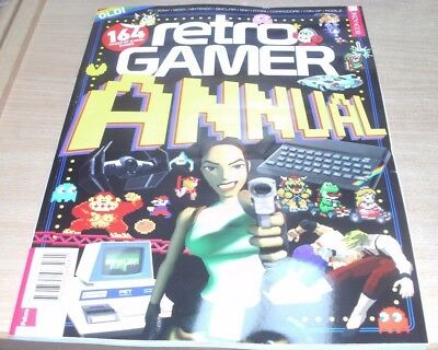 Retro Gamer magazine Annual 2017 164 pages of iconic games. PC Sony Nintendo SNK